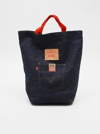 levi tote   Ideas 4 Demin   Pinterest   Denim bag, Denim and Jeans f9edd47083ac