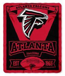 Atlanta Falcons 50x60 Fleece Blanket - Marque Design