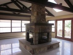 texas 4 sided fireplaces google search finally house home rh pinterest com 4 sided fireplace designs 4 sided fireplace canada