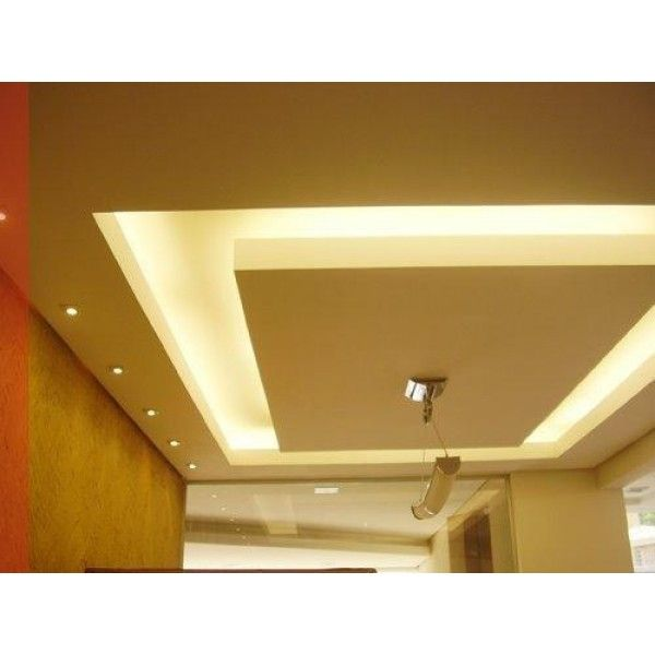 Sanca Amarela Ceiling Design Living Room Gypsum Ceiling False Ceiling