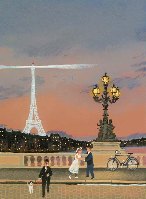 Michel Delacroix, Grand Monument Suite - Tour Eiffel, Lithograph on Paper
