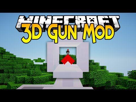 3D Gun Mod 1 7 10 - 9Minecraft Net | Books Worth Reading