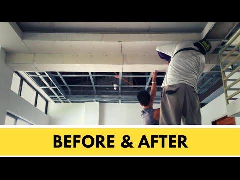 Metal Furring Hardiflex Ceiling Installation Pinoy Panday Youtube In 2020 Ceiling Installation Installation Ceiling Design