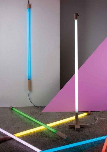 Linea Neon Tube Lights by Seletti | Lighting | Pinterest | Neon tube ...