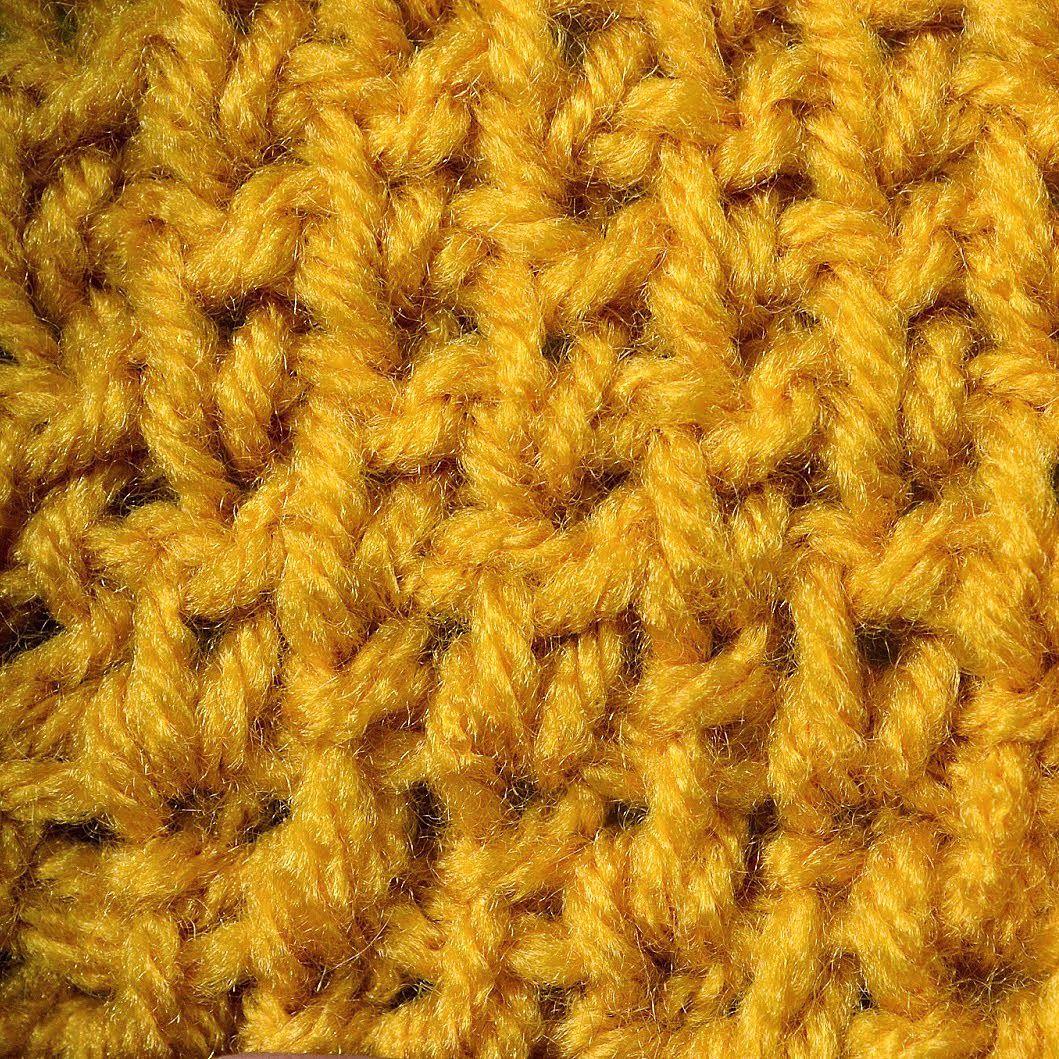 My Tunisian Crochet: Tunisian Knit / Reverse Stitch | Hooked ...