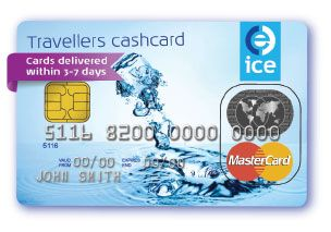 ice international currency exchange travel cash card currency cards fee free with cashback - Prepaid Cash Card
