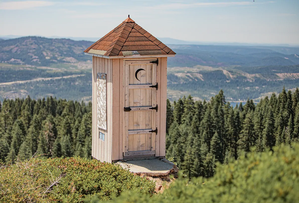 Grouse Ridge Fire Lookout Trail System & Points of