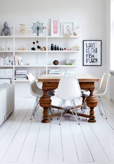 Vitra Eames chairs