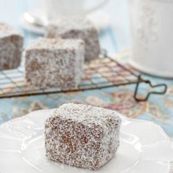 There is perhaps no cake as lovely as a buttery, chocolaty lamington, try them today!