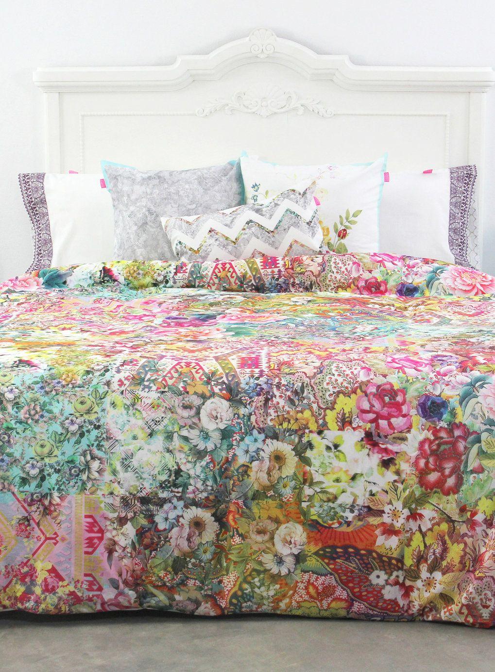 Bohemian Chic Bedding happy friday boho chic bedding set - bhs | london flat | pinterest