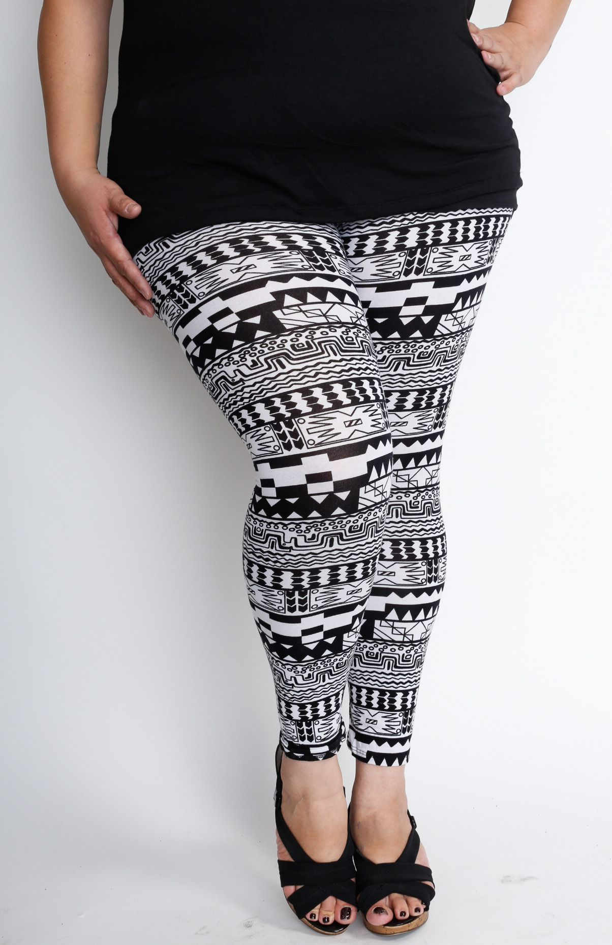 Pretty Plus Size leggings At Wholesale Prices. #plussize ...