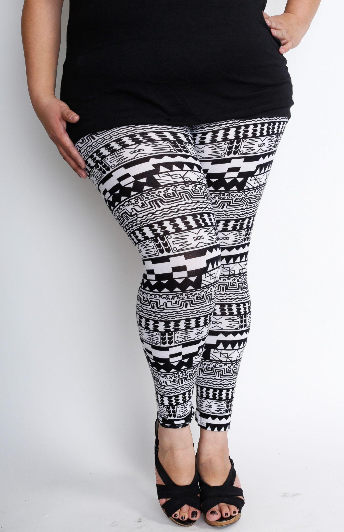 Pretty Plus Size leggings At Wholesale Prices. #plussize ...