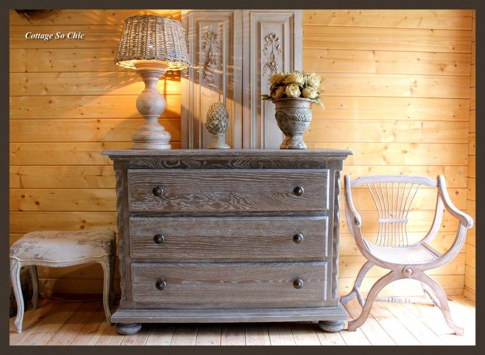 Relooking d\u0027un meuble  préface à la patine Rustic style, Bedrooms - Comment Decaper Un Meuble