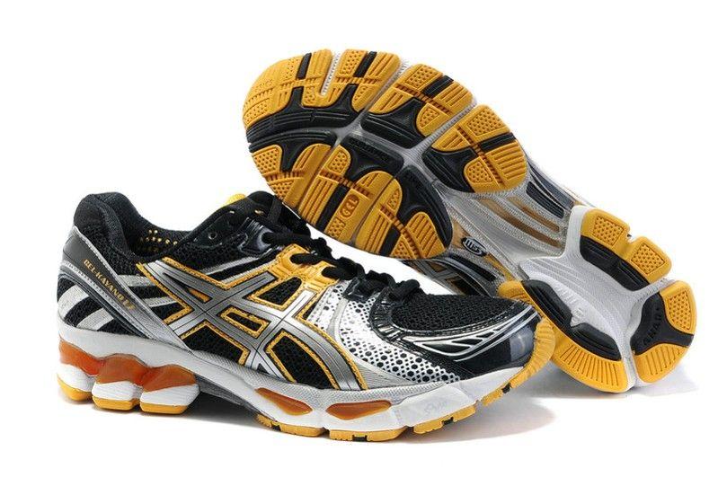 new style efbf0 cbcb8 ASICS running GEL KAYANO 17 Mens Black Gold Shoes  onitsukatiger