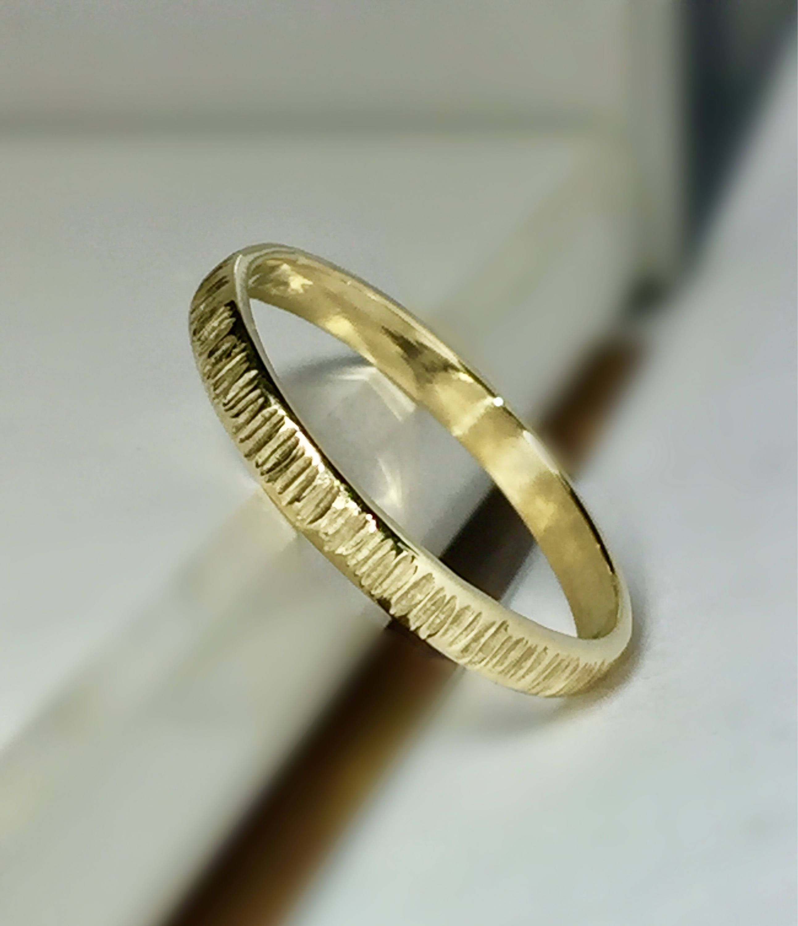 band solid two tawfiq awesome the free rings gold ring wedding jewelry bands quirky