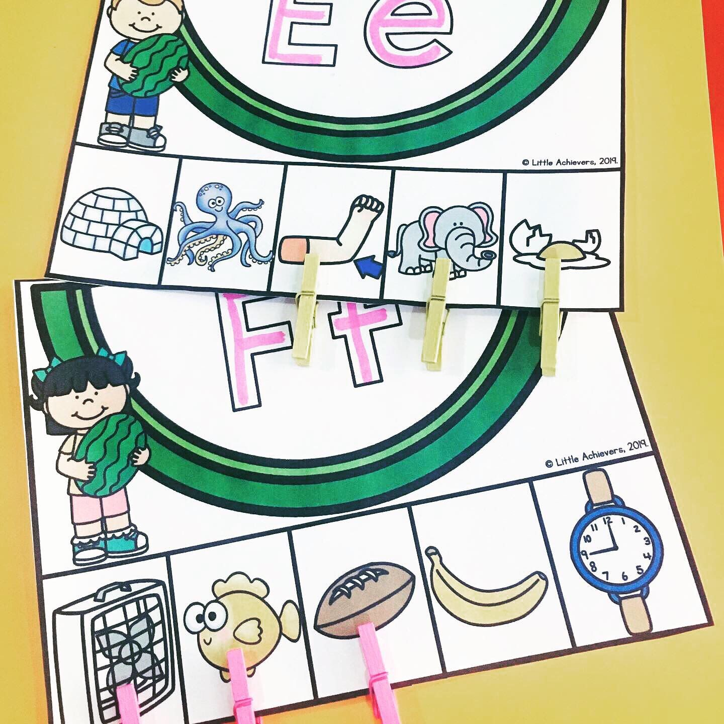 Pin By Little Achievers On Alphabet Activities