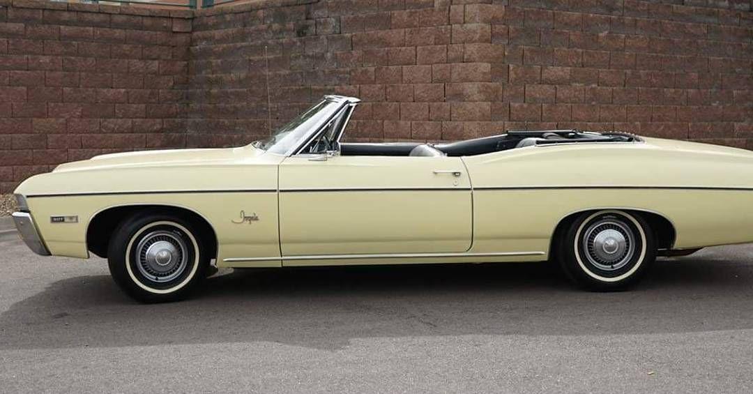 1968 Ernut Yellow Chevy Impala Convertible Badcarz26 On Instagram Follow Nicksb765 Like Bad Carz