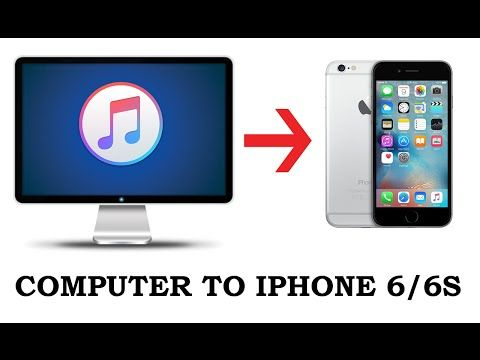 How to TRANSFER MUSIC from Computer to iPhone WITHOUT