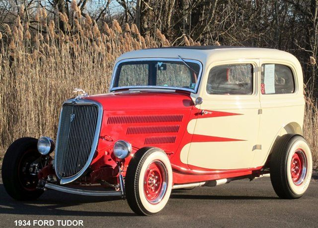 1934 Used Hot Rods Ford Tudor At Old Forge Motorcars Inc Serving Lansdale Pa Iid 13021097