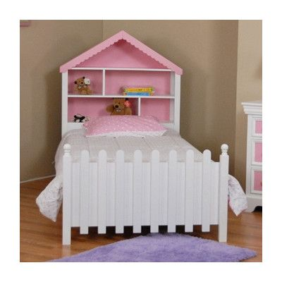Comfort Decor Color Box Twin Doll House Bed In White Pink I Think We Could Recreate It