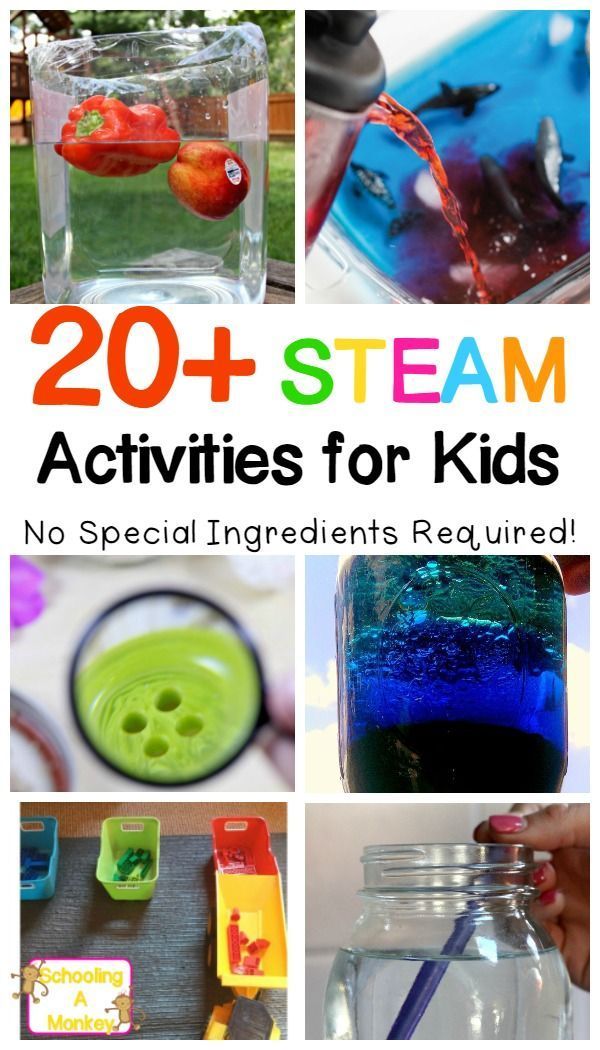 20+ Free and Fun STEAM for Kids Activities You Can Do Right Now