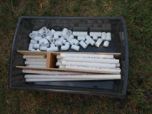 Parents you will love this little building kit.  Why not add some marbles in there too and you have a marble run kit to boot.
