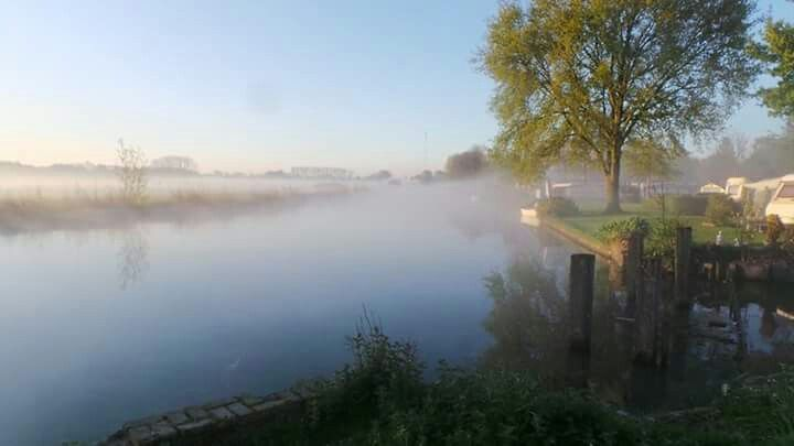 Good morning on May 2, 2015 by Marcel Leenderse with on the right the camping site 'De Voormolen'