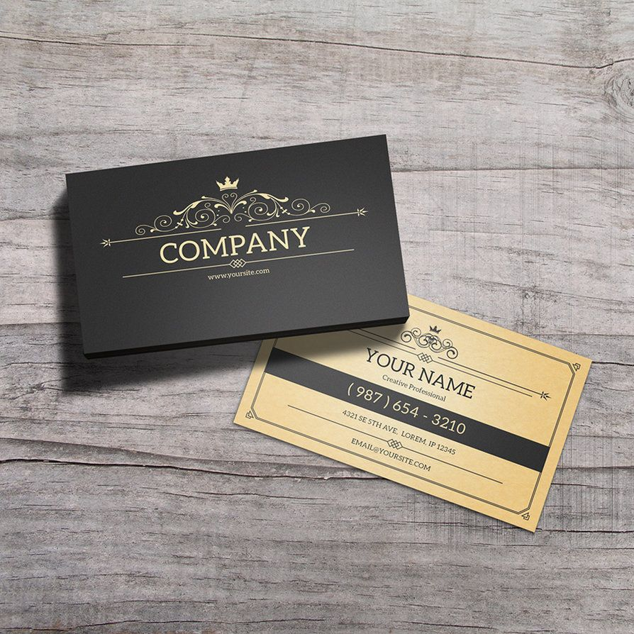 York vintage business card template by macrochromatic design york vintage business card template by macrochromatic colourmoves