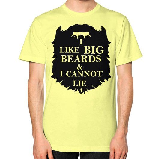 Big Beards Unisex T-Shirt - American Apparel
