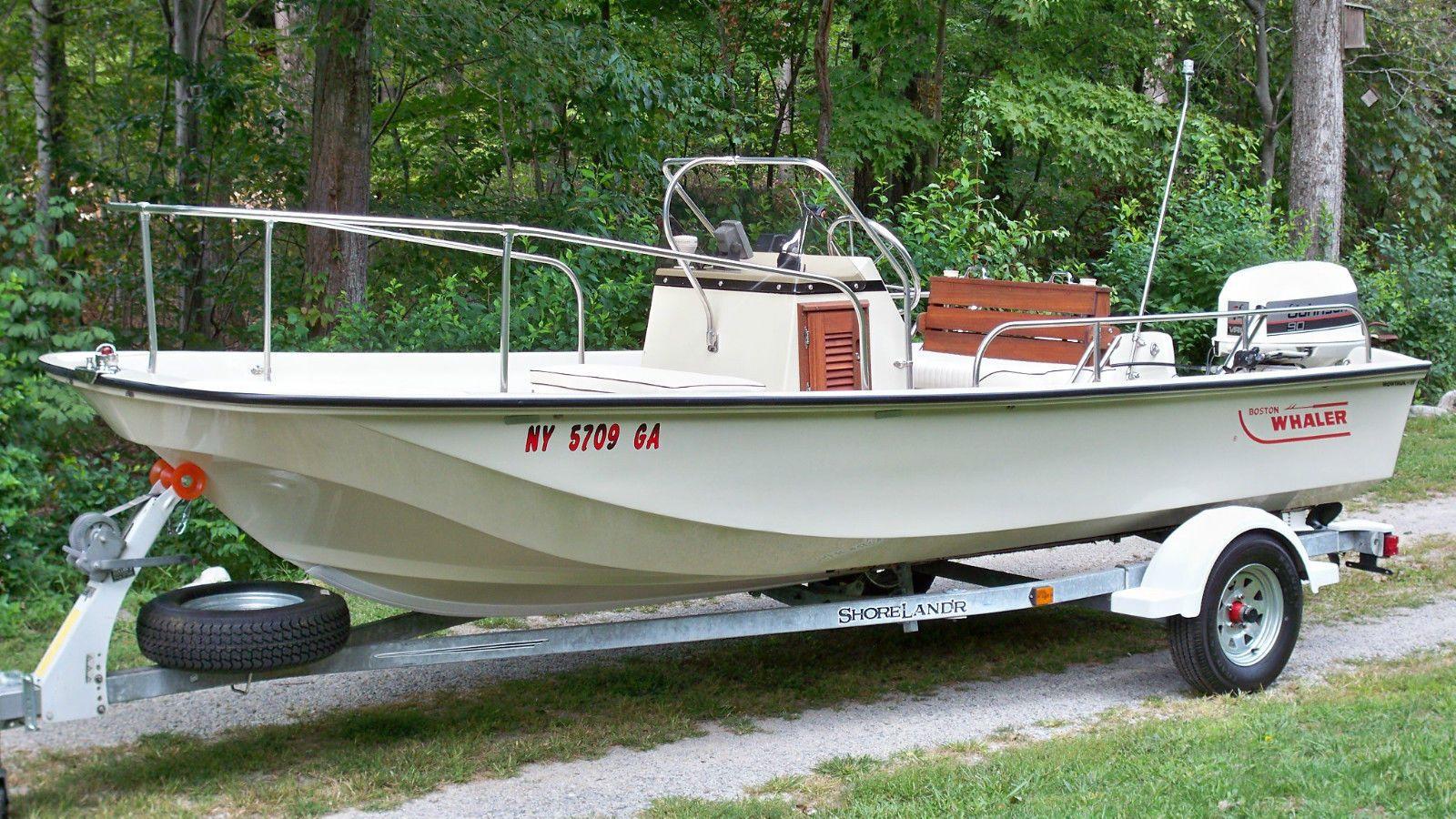 Boston Whaler MONTAUK 17 1989 for sale for $3,550 | boat