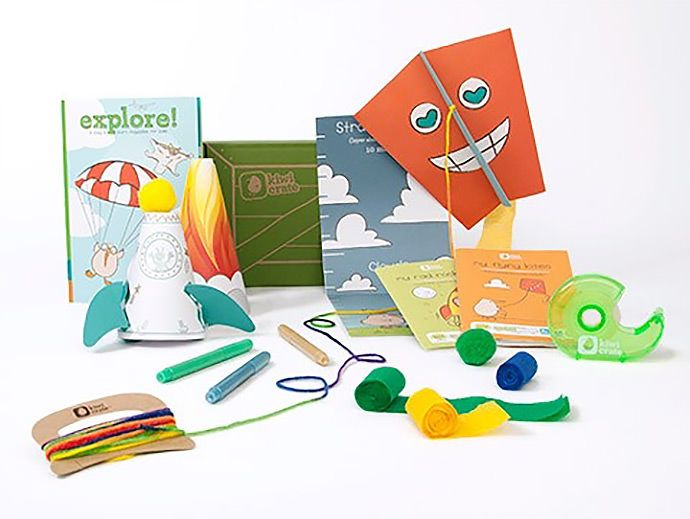 The Ultimate Monthly Craft Kit For Kids Crafts For My Little Ones