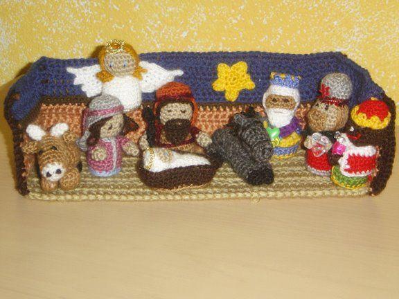 Amigurumi Navidad Nacimiento : Belen de ganchillo amigurumi crochet and navidad