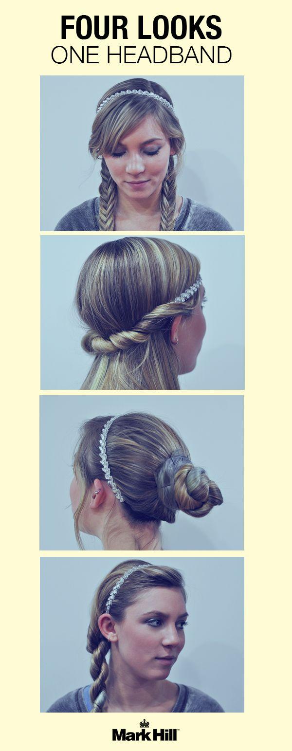A glam headband is girl's best friend.