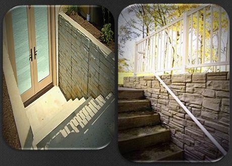 Basement Egress Doors Decorative Concrete Walls For Basement