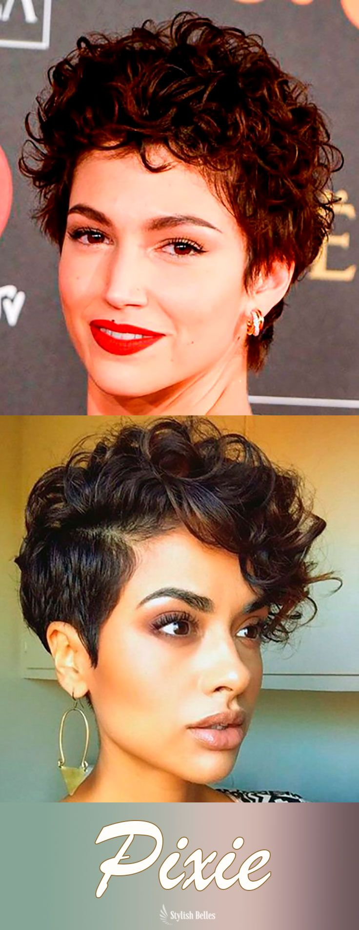 Most Attractive Short Curly Hairstyles for Women  Natural