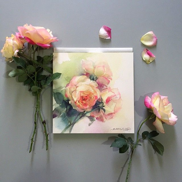 Roses Live Forever In Art Just Like The Love They Represent