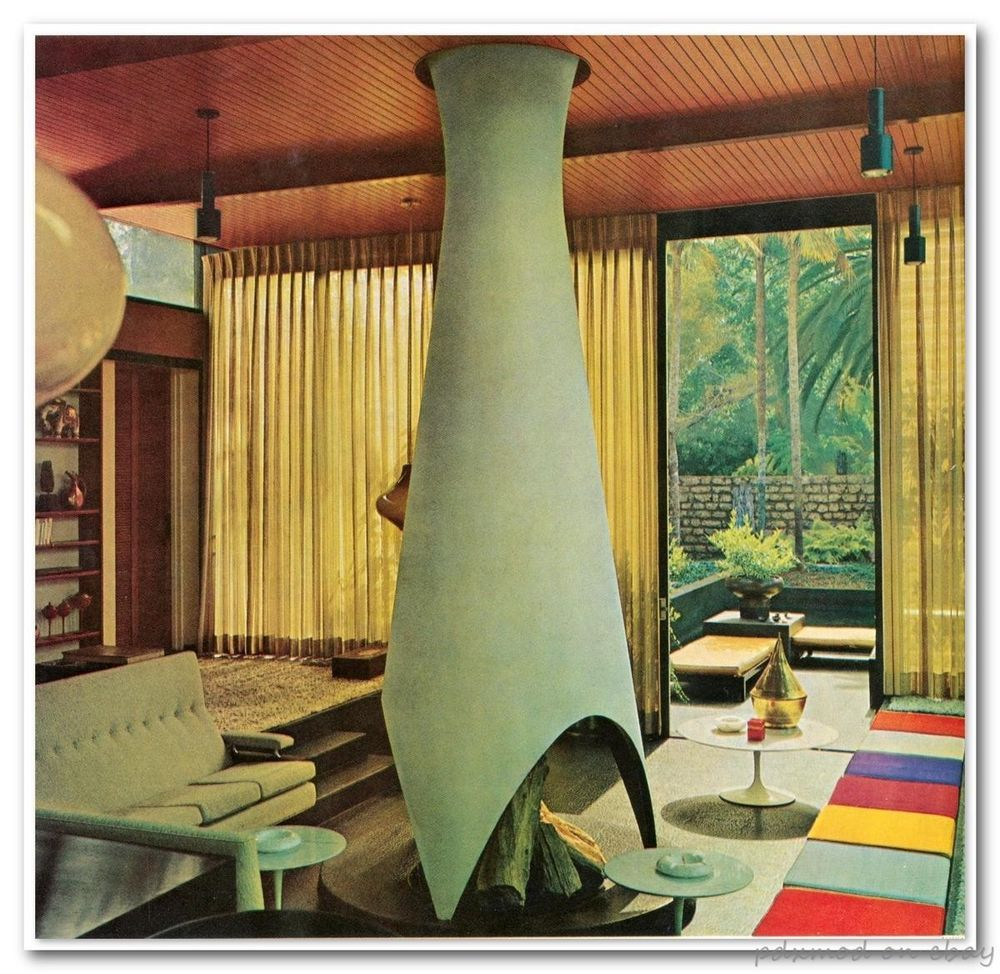 70s Coffee Table Book Of Interior Decoration Design Featuring The Works Or Discussions Of Mid Century Modern Design Midcentury Modern Mid Century Living Room