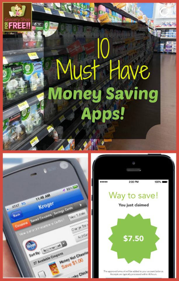 10 Must Have Money Saving Apps Just downloaded almost