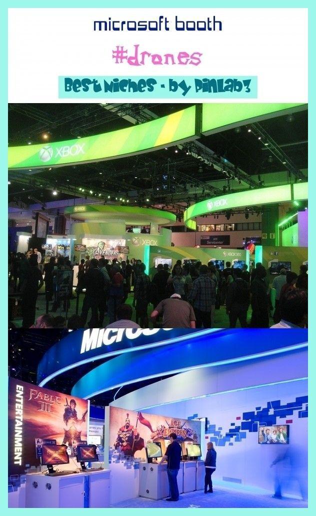 Microsoft booth microsoft booth MicrosoftStand ; stand