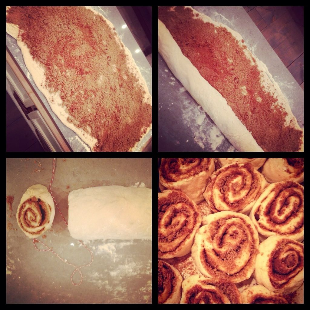 A request for starbucks cinnamon roll from my youngest son
