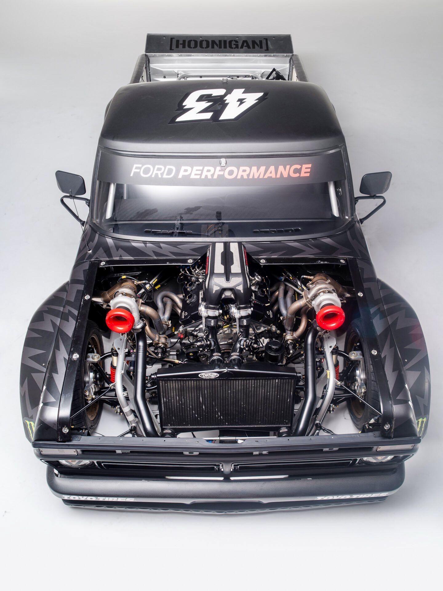 Обои dark, gymkhana, rear, hoonicorn, ken block, 845 hp, rtr, 1965. Автомобили foto 14