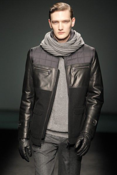 Torras Black Autumn Fashion And Knit Leather In Brand Winter rFrxqwA