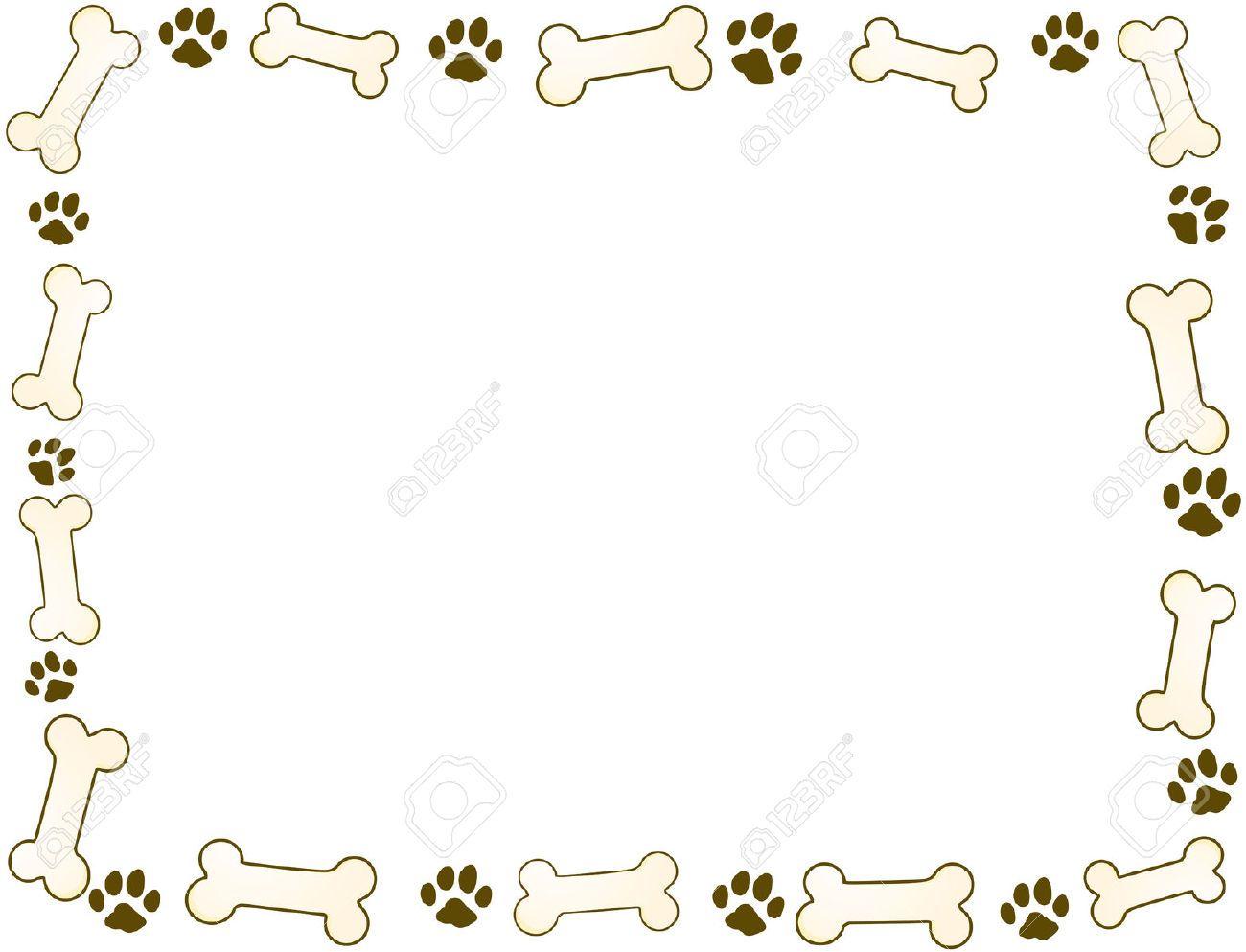 Image Result For Dog Bone Border Dog Bone Dog Bones