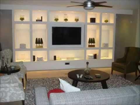 Resultado de imagen de muebles de pladur salon decor for Muebles de pladur