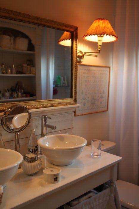 déco salle de bain romantique