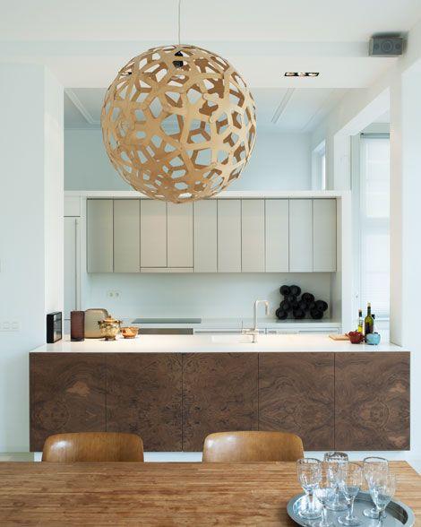 the coral lamp by david trubridge pic by eigen huis interieur