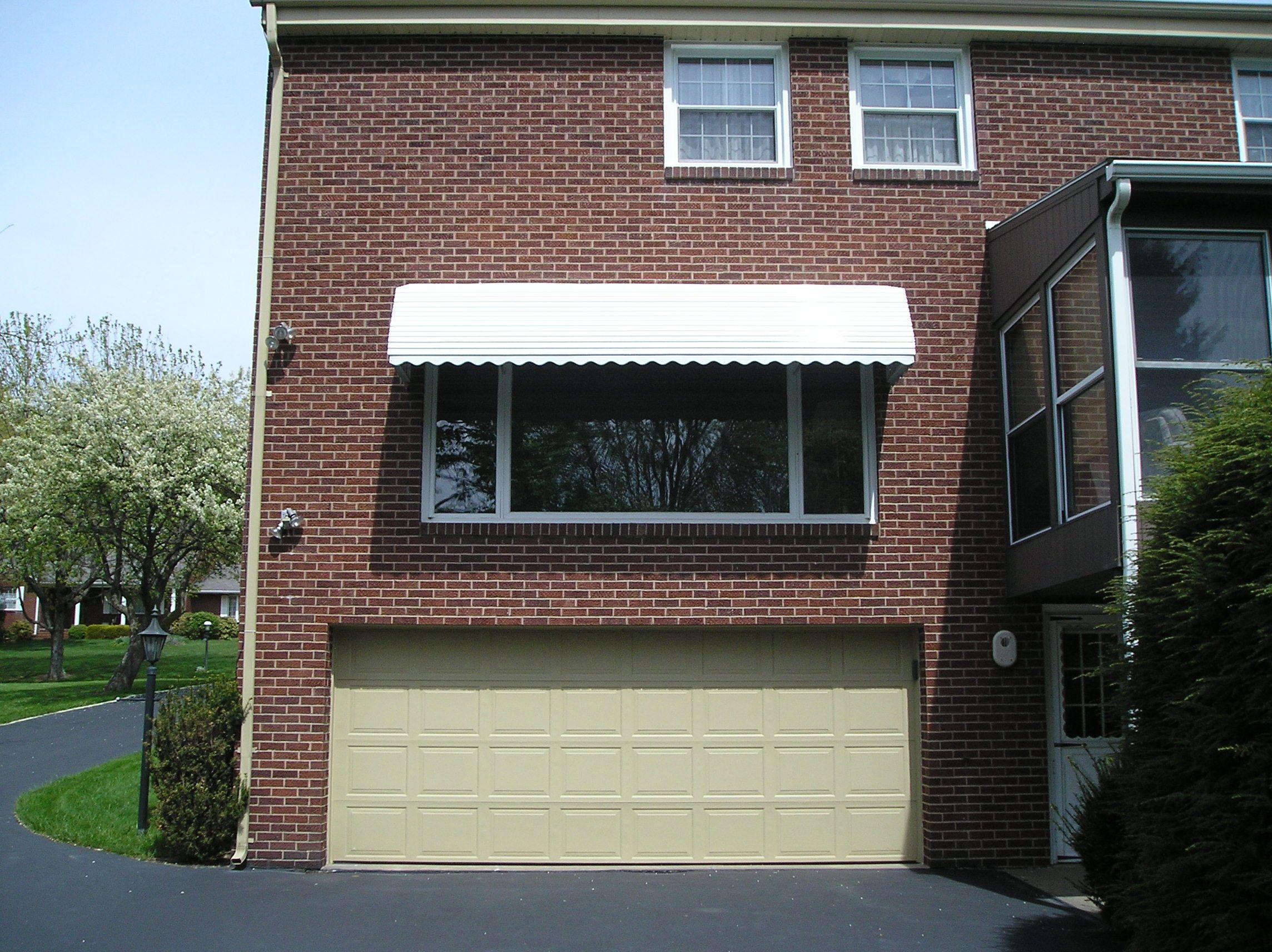 Step Down Aluminum Awning Aluminum Awnings Garage Doors Garage
