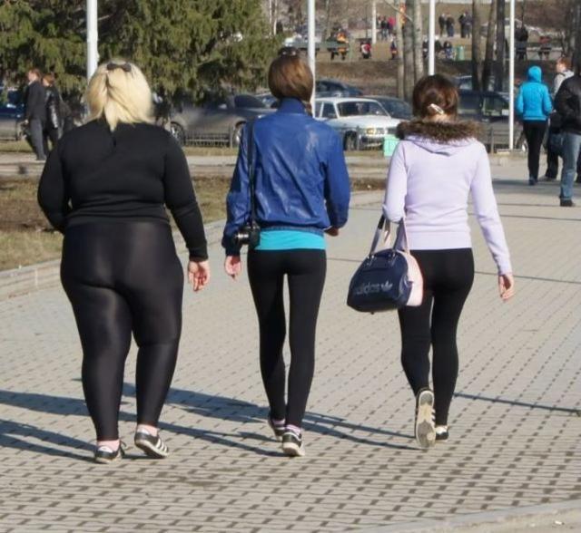 Some girls should not wear spandex. #Fashion Bad, #Should not wear ...