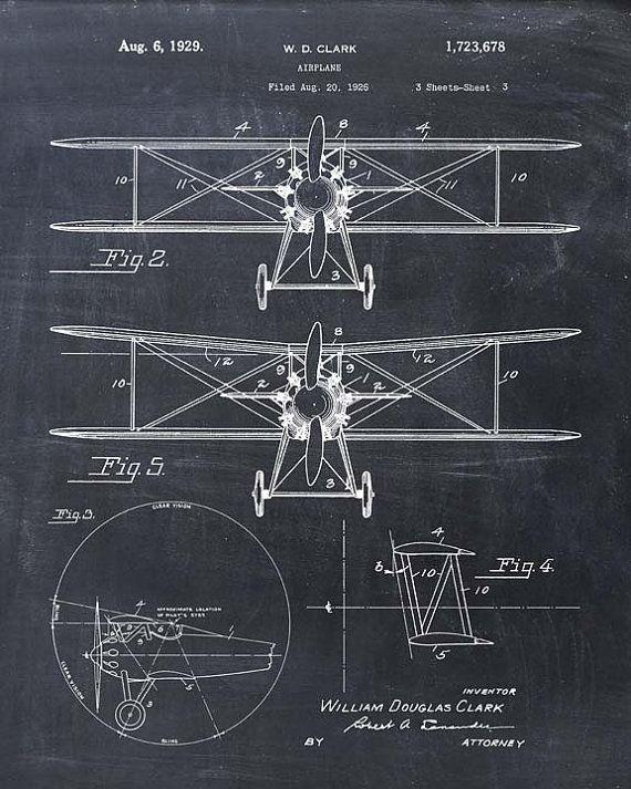Biwing Airplane Patent Print Patent Art Print Patent Etsy Patent Art Prints Patent Prints Patent Art