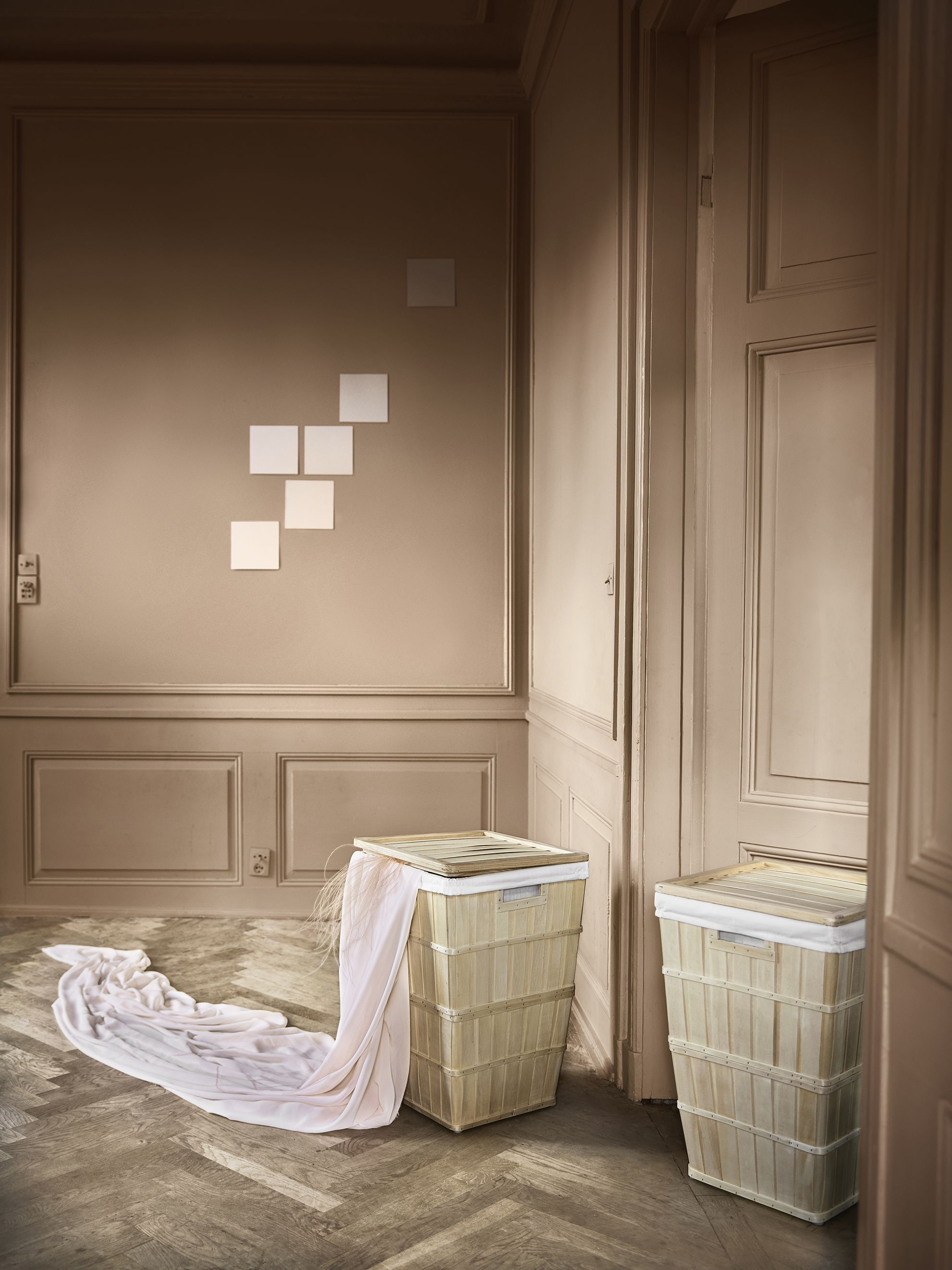 Old Ikea Products with a look from the old days, brankis laundry basket has all the